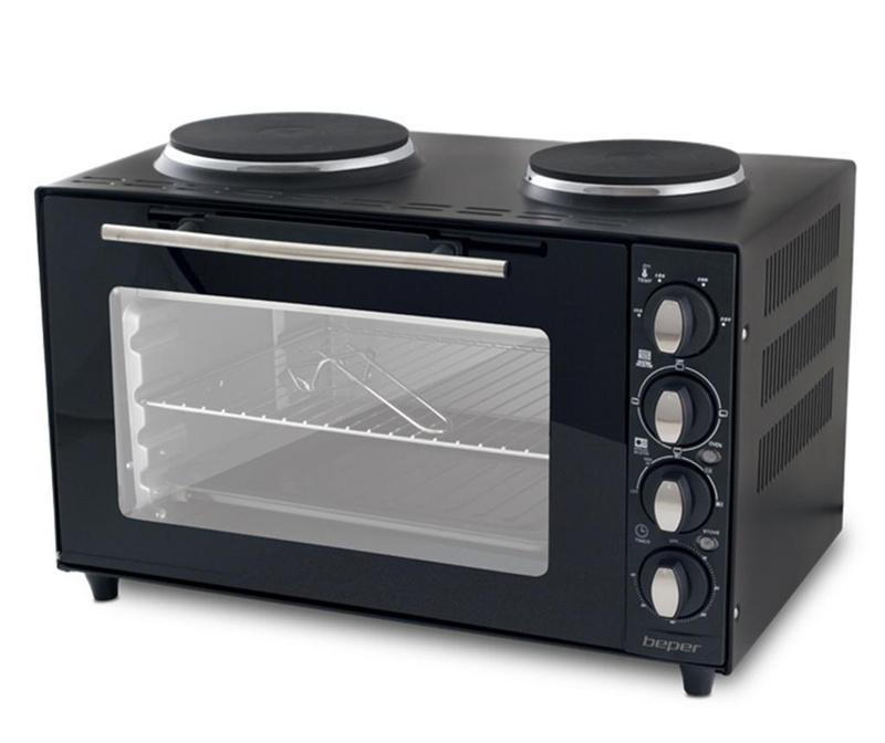 Toaster pečica s kuhalnimi ploščami Cameo 36 L