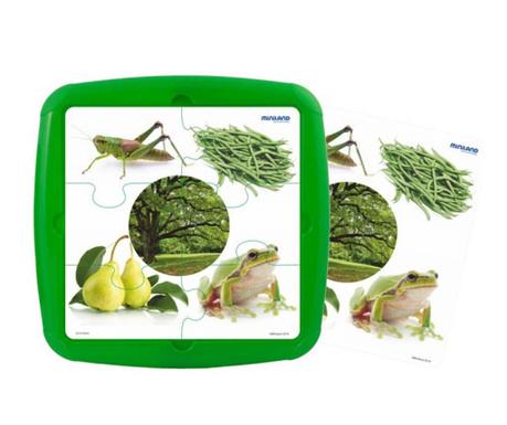 Slagalica sa 6 dijelova Green Elements