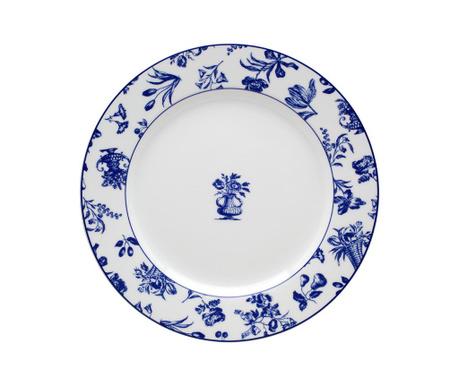 Farfurie intinsa Chintz Azul Royal