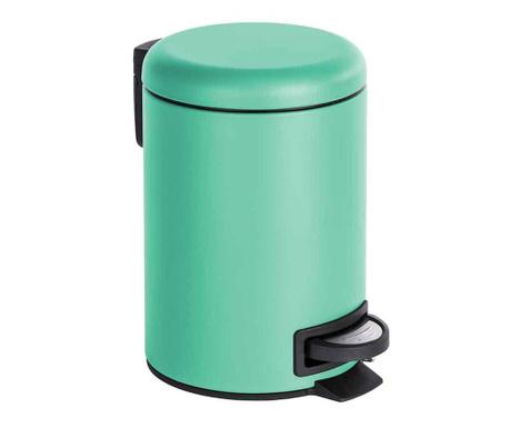 Кош за отпадъци с капак и педал Leman Mint 3 L