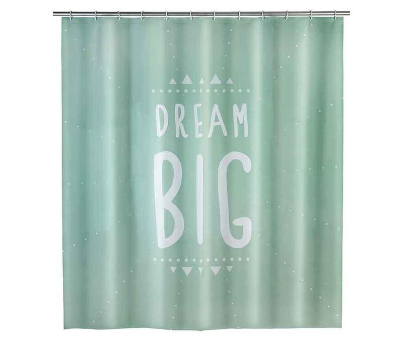 Zavjesa za tuš Dream Big 180x200 cm