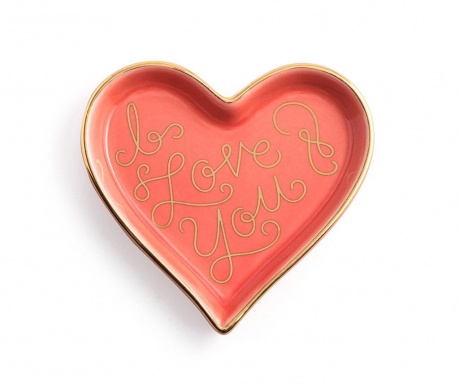 Patera dekoracyjna I Love You