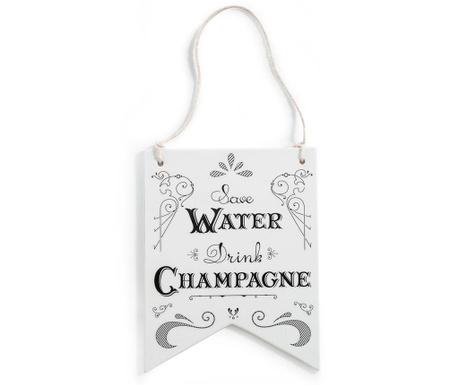 Dekoracja na drzwi Save Water