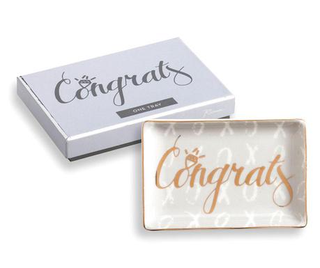 Patera dekoracyjna Congrats