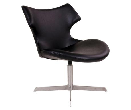 Otočná stolička Zambi Black