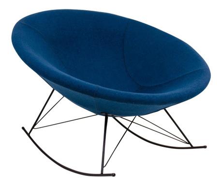 Krzesło na biegunach Kisa Felt Petrol