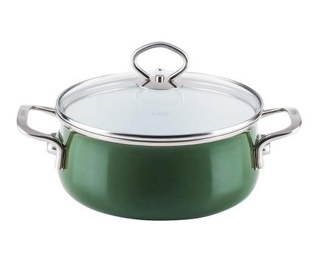 Posuda za kuhanje s poklopcem Nouvelle Green 4 L