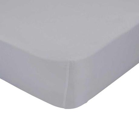 Cearsaf de pat cu elastic Basic Grey