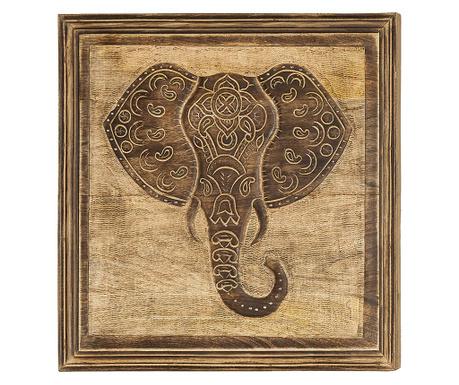 Obraz Elephant 53x53 cm