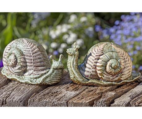 Set 2 decoratiuni de gradina Ilse Snail
