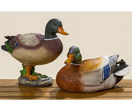 Set 2 decoratiuni de gradina Herta Duck