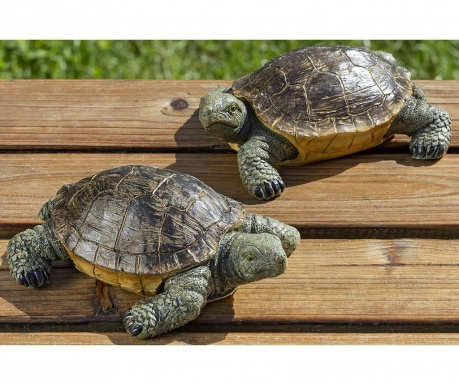Set 2 decoratiuni de gradina Turtles