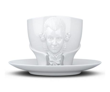 Set šalica i tanjurić Wolfgang Amadeus Mozart