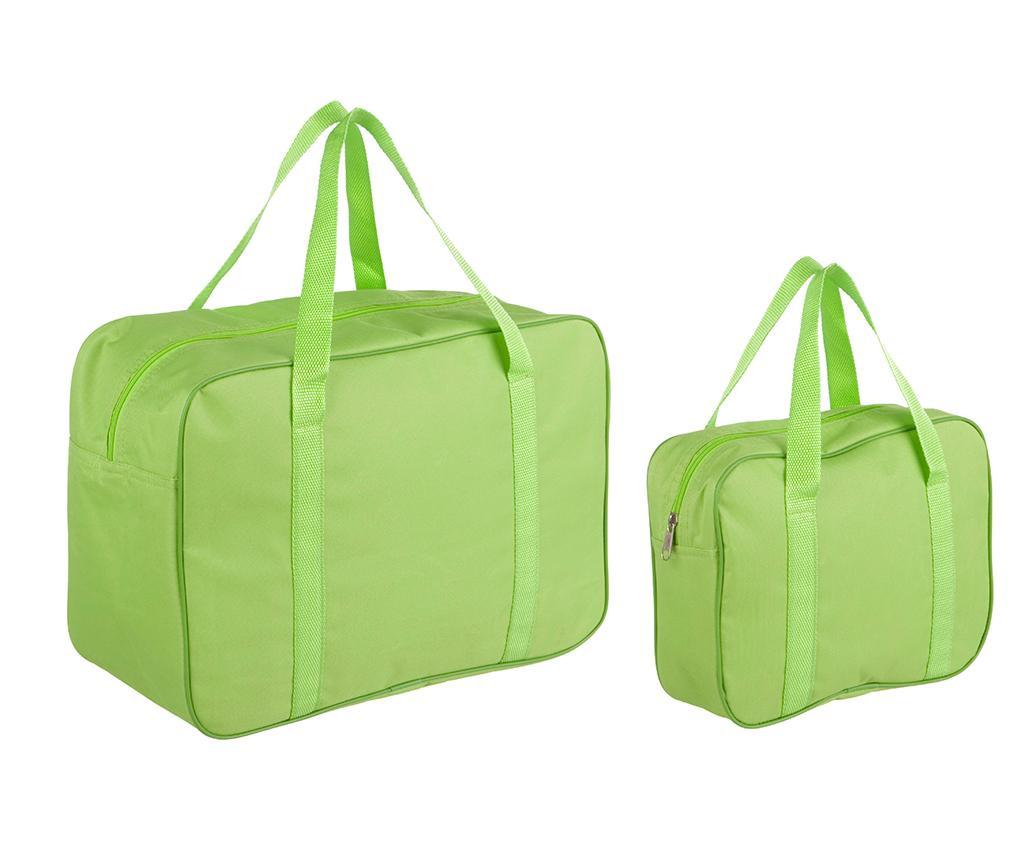 Set 2 termoizolirane torbe Green Cool