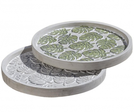 Set 2 platouri decorative Tasha