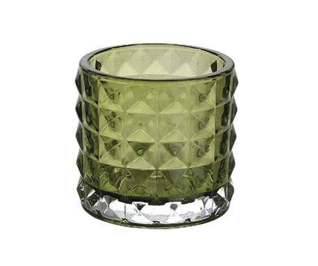 Držač za svijeću Squary Green