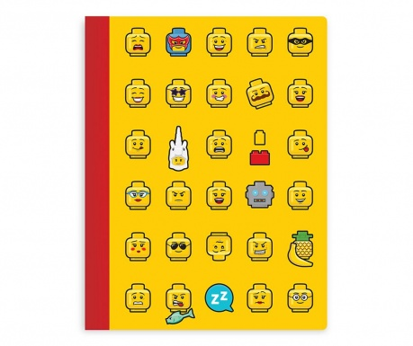 Caiet Lego Book Yellow