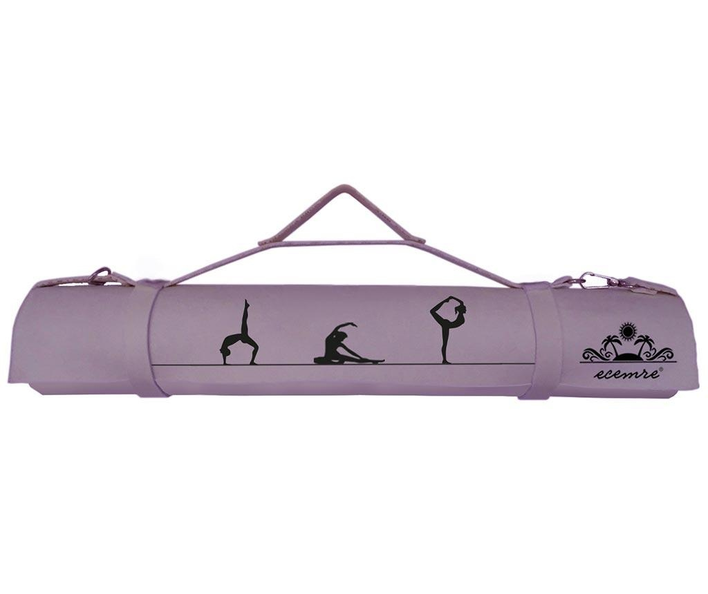 Prostirka za jogu Silhouette Purple 65x185 cm