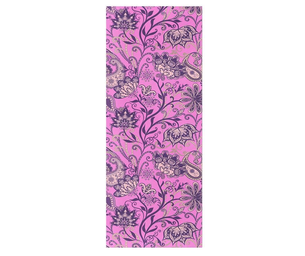 Prostirka za jogu Oriental Swirls 65x185 cm
