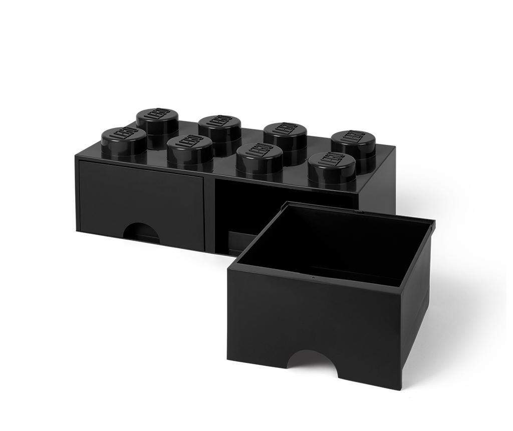 Shranjevalna škatla Lego Square Duo Black