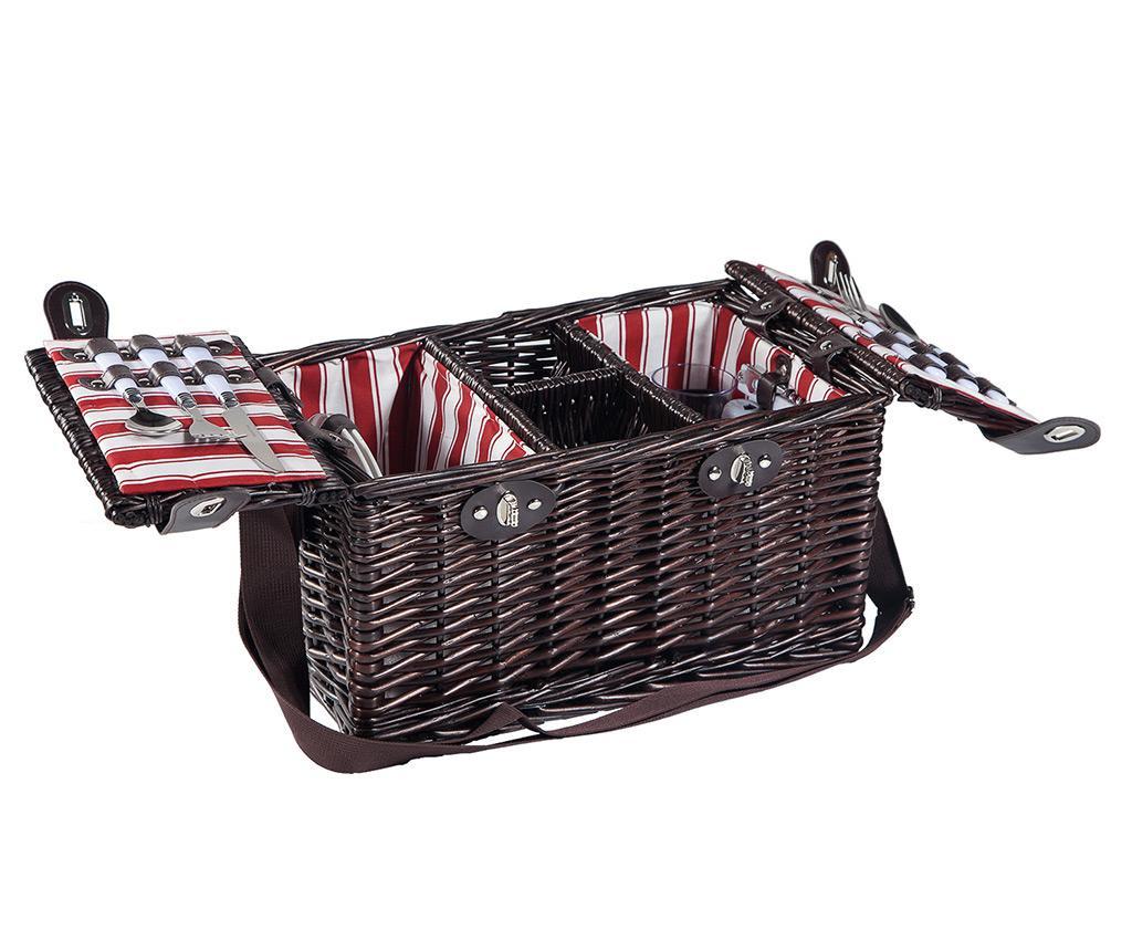 Cos echipat pentru picnic 2 persoane Mildred