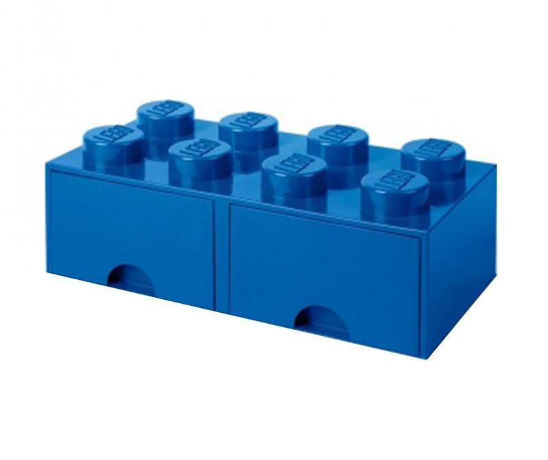 Shranjevalna škatla Lego Square Duo Blue