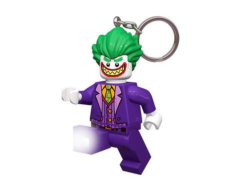 Obesek za ključe z lučko Joker