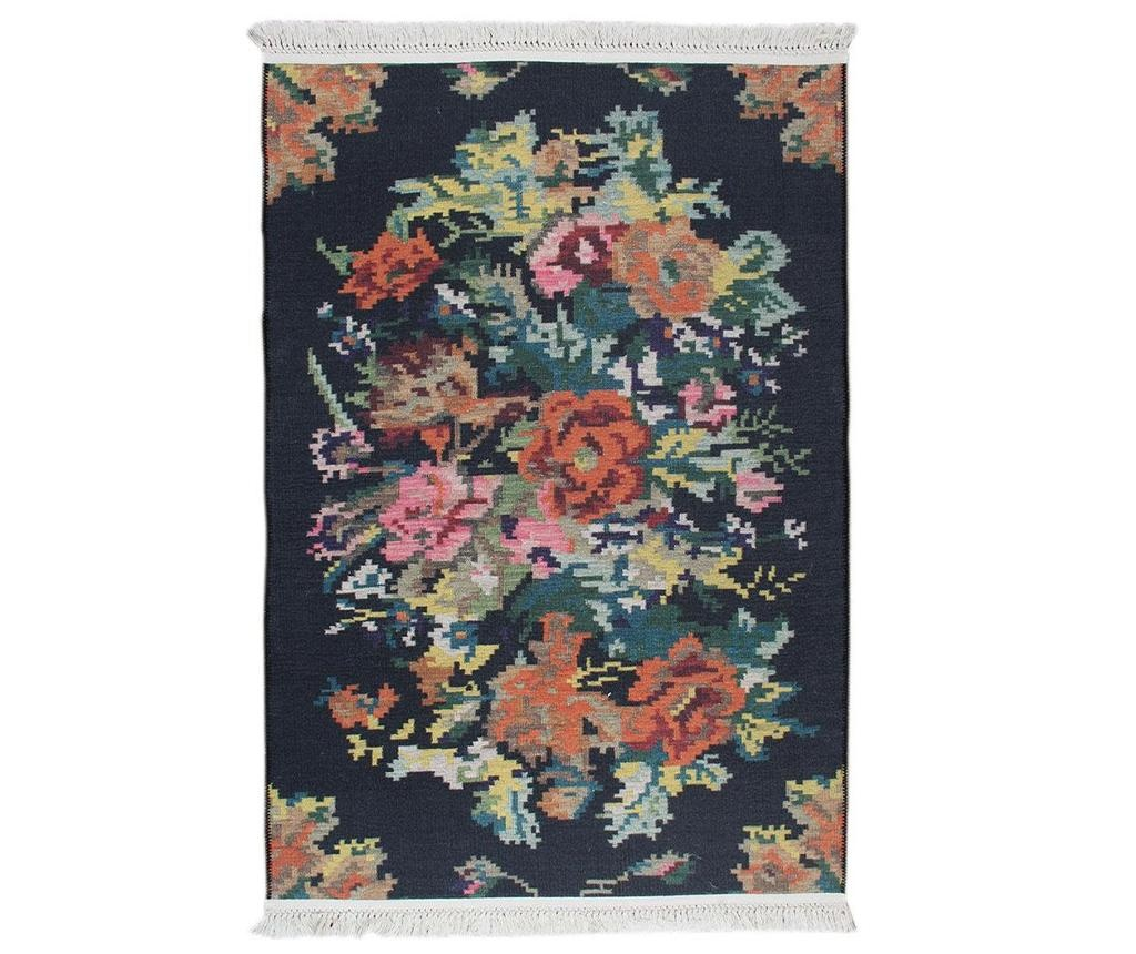 Tepih Melinda Black 75x300 cm