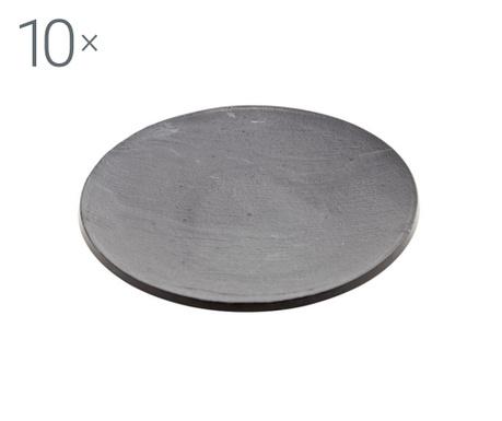 Комплект 10 чинийки за еднократна употреба Apero Easy