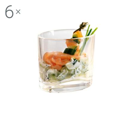 Set 6 pahare pentru aperitive Elipse Shine 200 ml