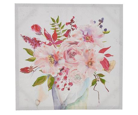 Obraz Flower Vase 70x70 cm
