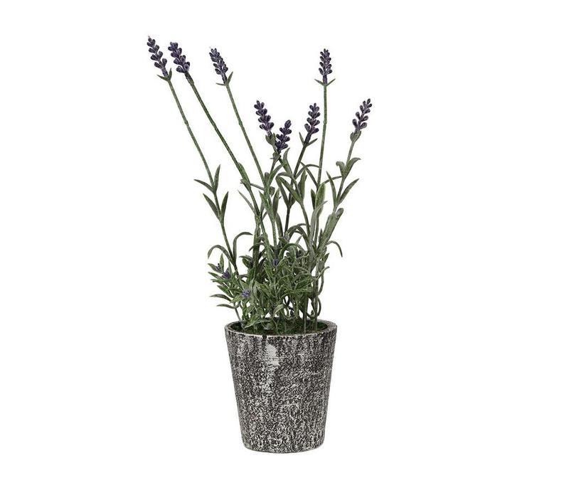 Floare artificiala in ghiveci Lavendel