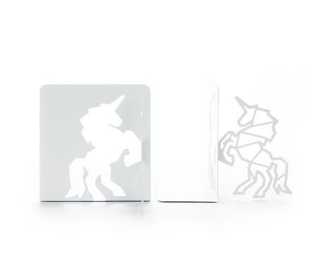 Sada 2 zarážek na knihy Unicorn
