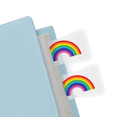 Sada 100 značek na stránky Rainbow