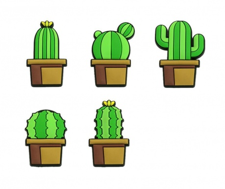 Set 5 piuneze Cactus Push Pin