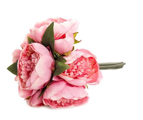 Šopek iz umetnega cvetja Pink Peony