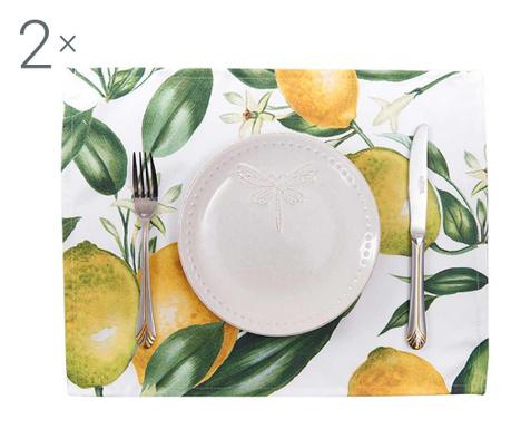 Set 2 podmetača Lemons 33x45 cm