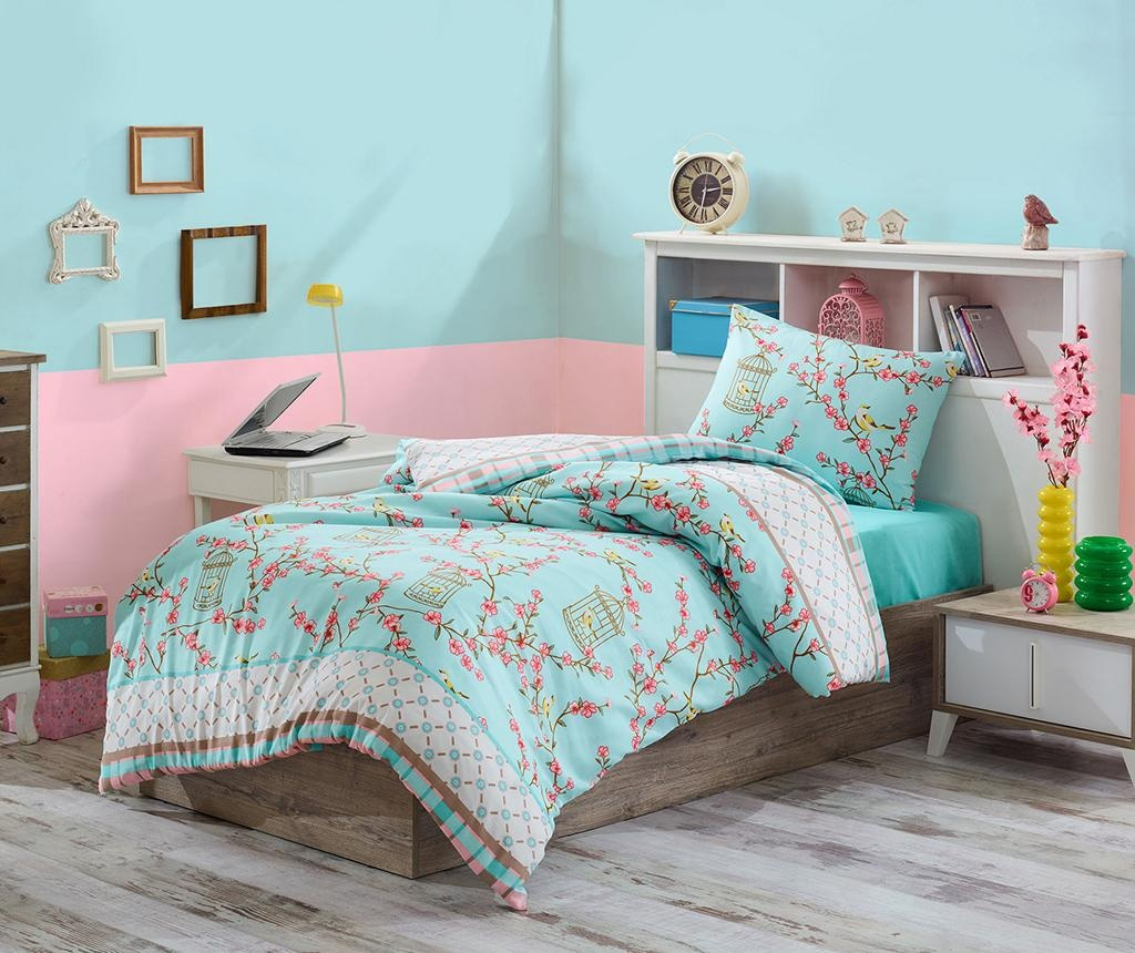 Спално бельо Single Ranforce Birdcage