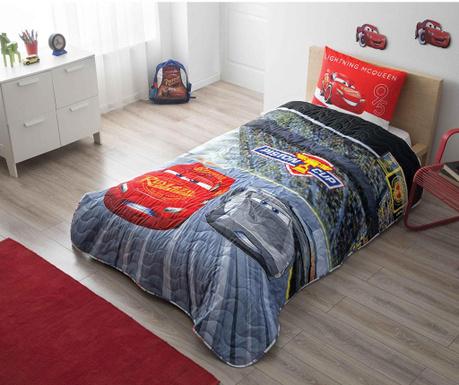 Zestaw  na łóżko Single Disney Cars