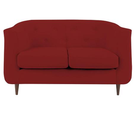 Canapea 2 locuri Love Red