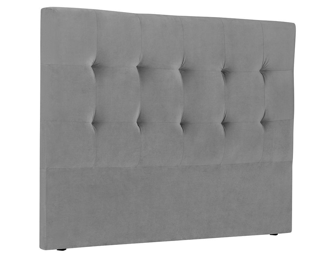 Tablie de pat Andol Light Grey 200 cm