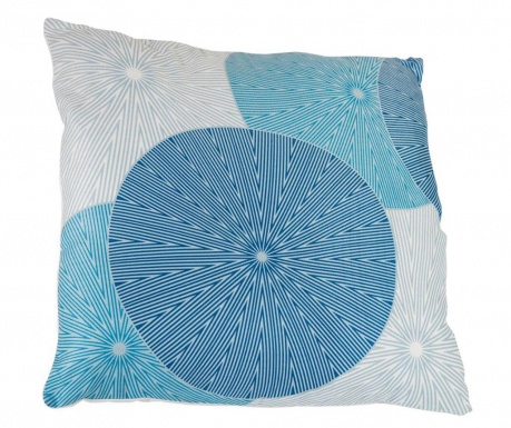Perna decorativa Spin Blue 45x45 cm