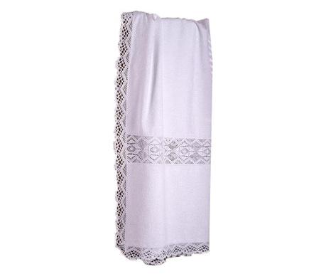 Кърпа за баня Lacy White 100x150 см