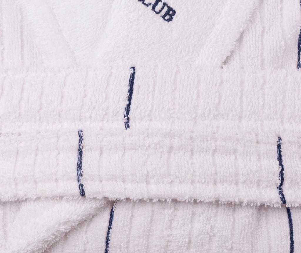 Szlafrok kąpielowy unisex Camden White Dark Blue L/XL
