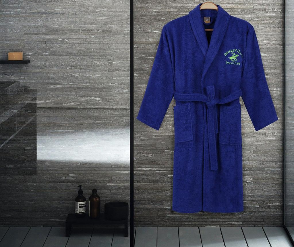 Kupaonski ogrtač unisex Austen Dark Blue M/L