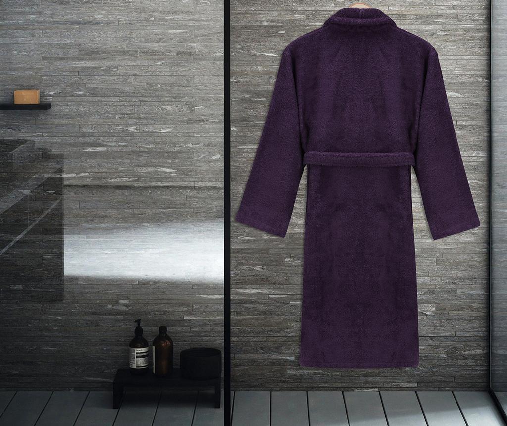Szlafrok kąpielowy unisex Austen Purple M/L