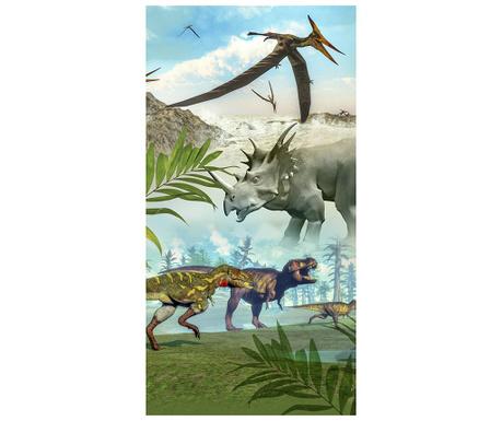 Dinoworld Strandtörölköző 75x150 cm