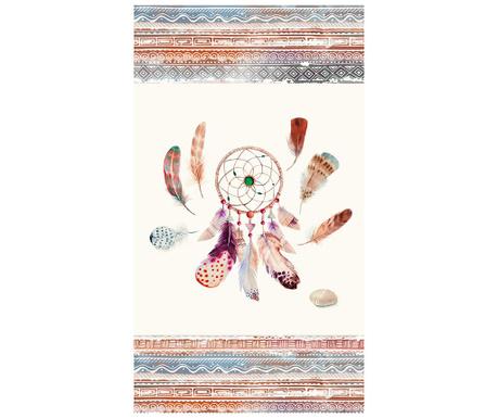 Feathers Strandtörölköző 100x180 cm