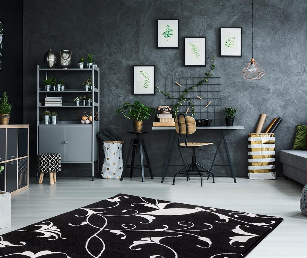 Tepih My Black and White Nero 80x150 cm