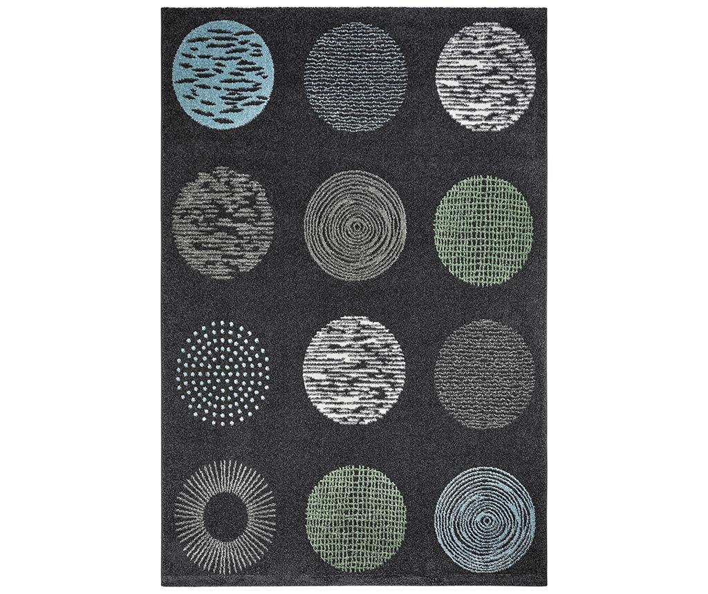 My Bronx Anthracite Dots Szőnyeg 160x230 cm